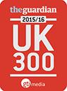 The Guardian, 2015/16 UK 300