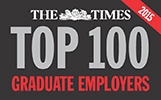The Times, Top 100 Graduate Employers 2015